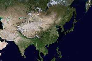 衛星地圖 - 中國衛星地圖